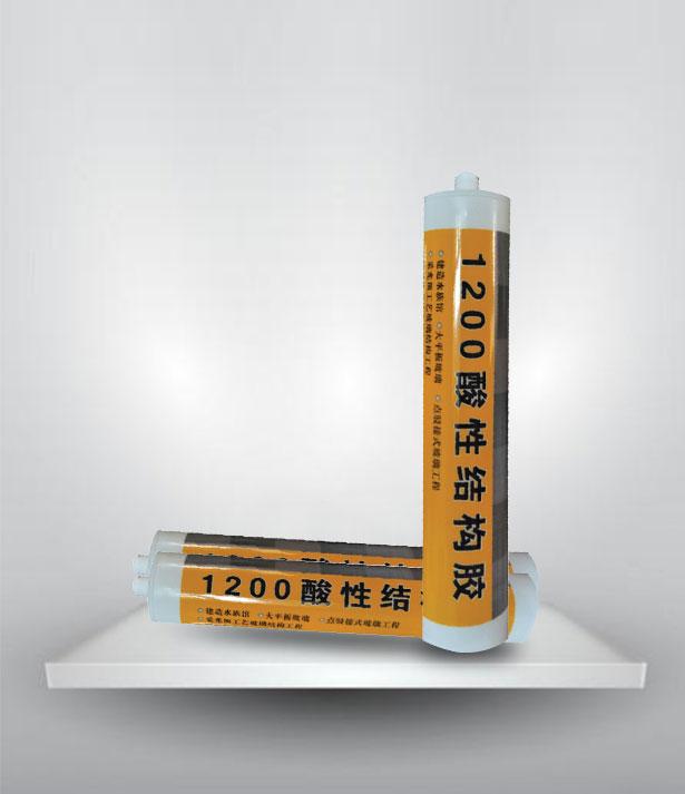 酸性硅酮结构胶